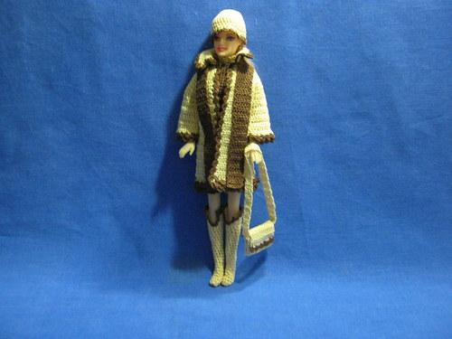 Zimní komplet pro panenku Barbie