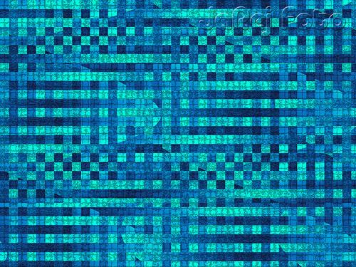 Modrozelené čtverečky