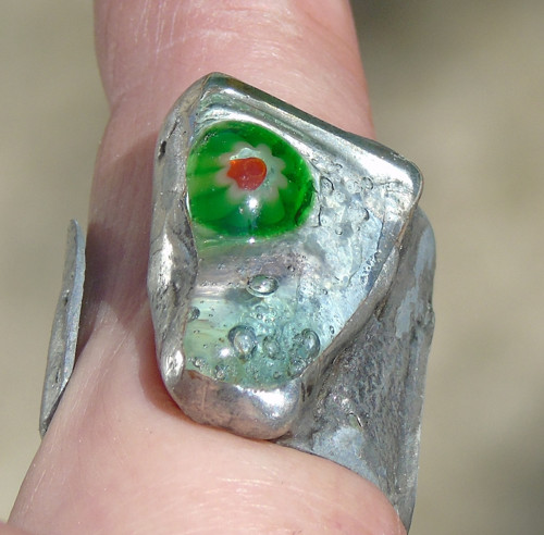 Prsten millefiori