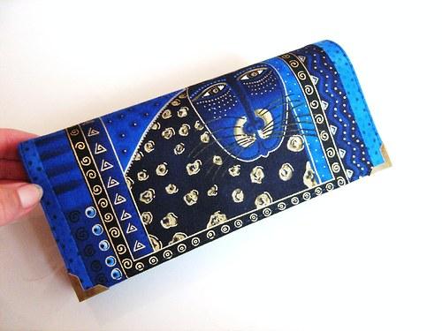 Luxusní Šelmička v modré I- velká na spoustu karet