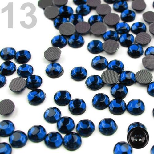 Šatonové růže HOT-FIX 5,8mm (1g,B) - cobalt blue