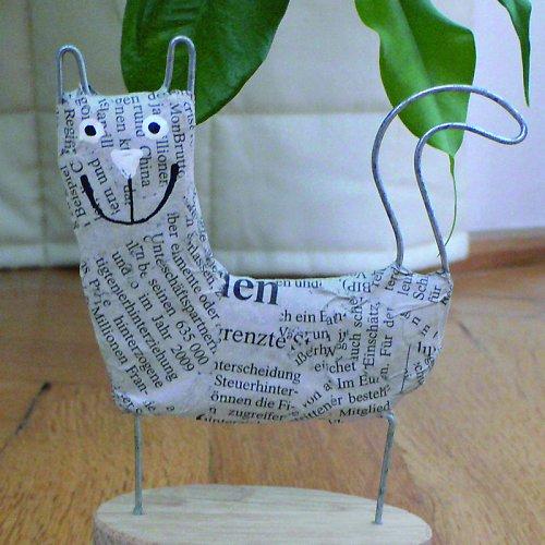 Kočka novinová