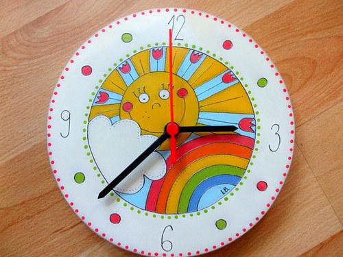 Dětské sluníčkové hodiny