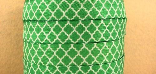 Pruženka/guma š. 16 mm: Tile zelená