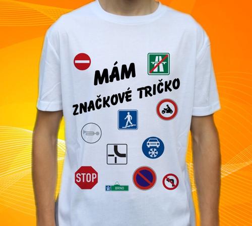 Značkové  tričko od vel. 116 do max 3XL