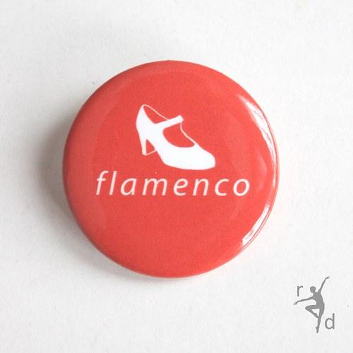 Placka FLAMENCO (Odznak) - Doprodej