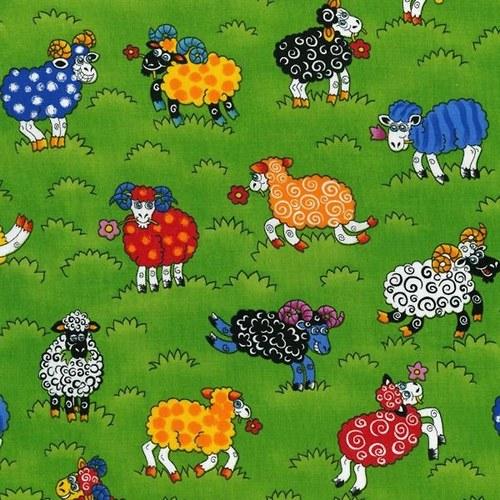 Ovečky na zelené louce
