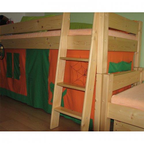 Domeček pod vyvýšenou dětskou postel