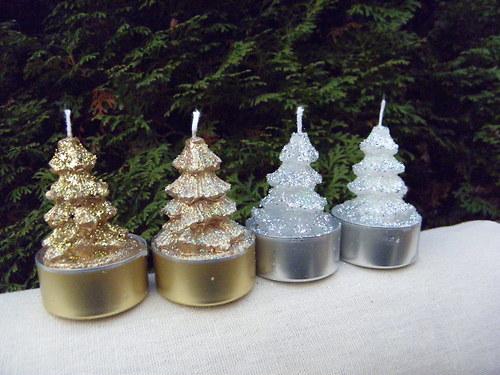 Svíčka - stromeček na čajovce