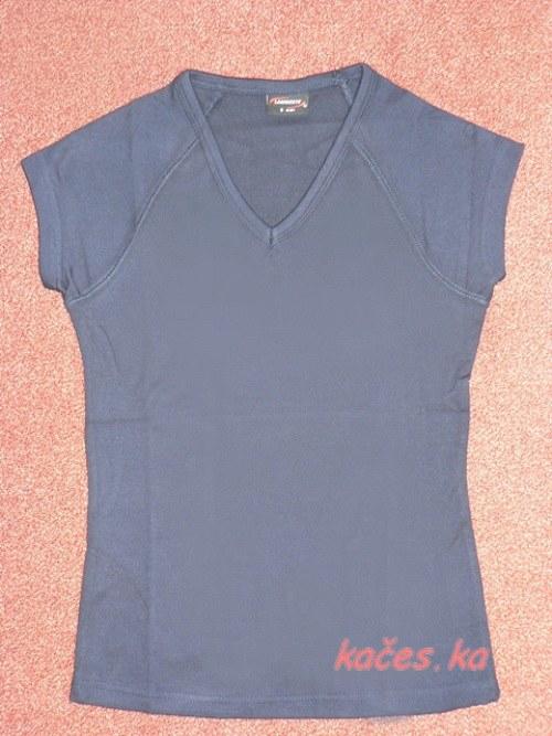Dámské triko pro Vaše tvoření -tmavě modré (vel.S)