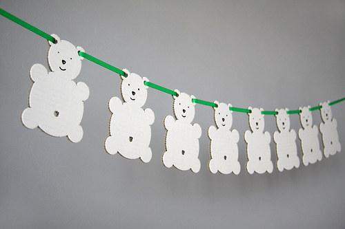 Medvídková girlanda