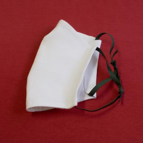 Textilní rouška k vyvaření, třívrstvá s kapsičkou