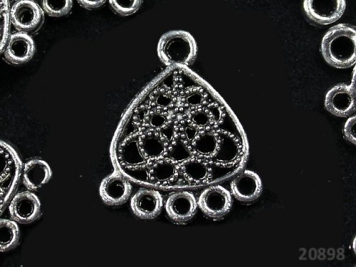 20898 Ramínko tibetské stříbro 18/22,bal.  2ks