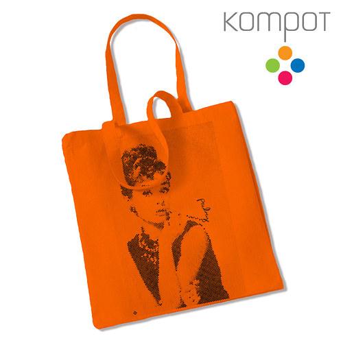 Taška s Audrey :: oranžová
