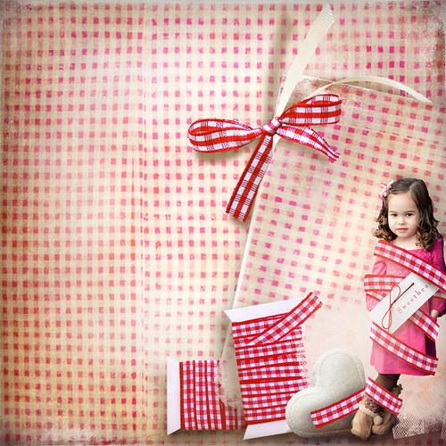 Scrap z vaší fotky (kit Little Cupcake)
