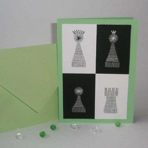 Šachy - zelené