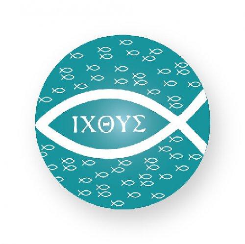 Placka rybičková ICHTHYS modrá
