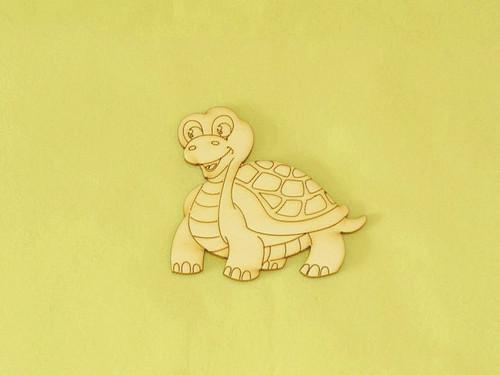 Výsek želvička - vel. 8x7,4 cm