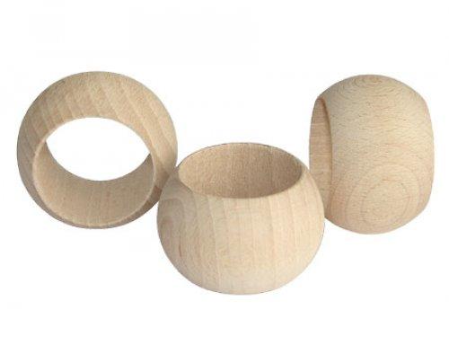 Dřevěný prstýnek na ubrousky DL192