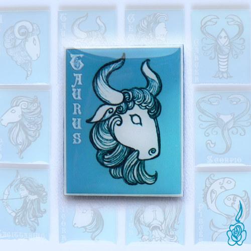 Magnetka se znamením zvěrokruhu - Býk