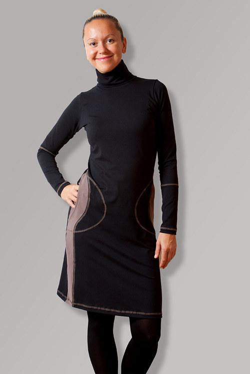 712 Fifth Avenue BLACK DRESS