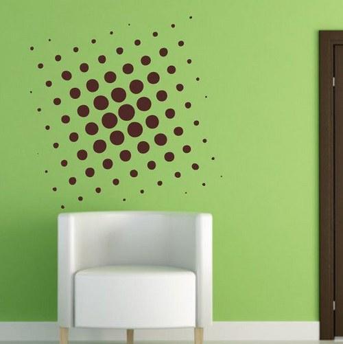 3D kocka 58x58cm Samolepíci dekorace 2567n