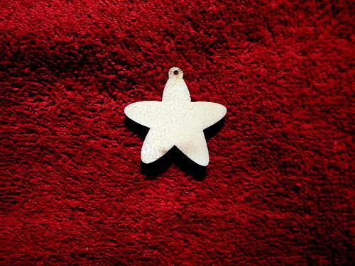 2D výřez ván.ozdoba hvězda-pr.4cm-cena za 10ks