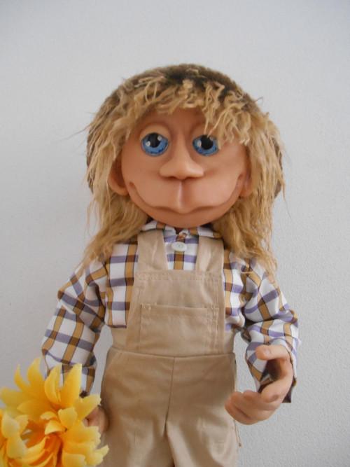 Autorská panenka Zahradník 45cm