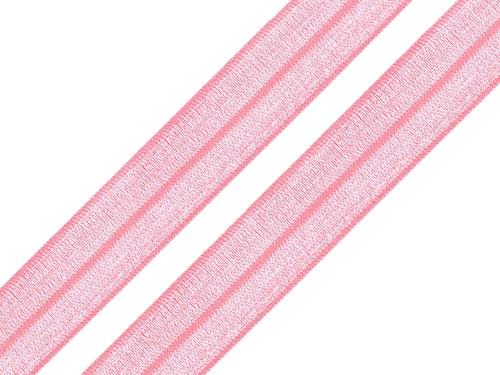 Lemovací pruženka světle růžová 18mm