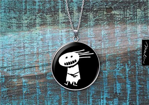 Přívěsek - antibubák - amulet proti bubákům