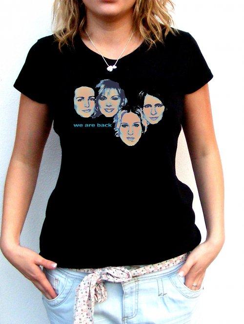 Dámské tričko ,,We are back´´