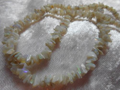 Náhrdelník - Drahý opál
