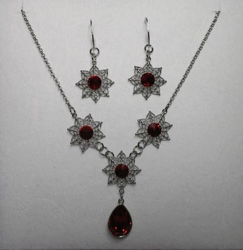 Carminia-souprava Swarovski crystals