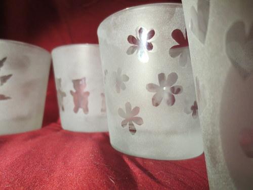 Ledové skleničky