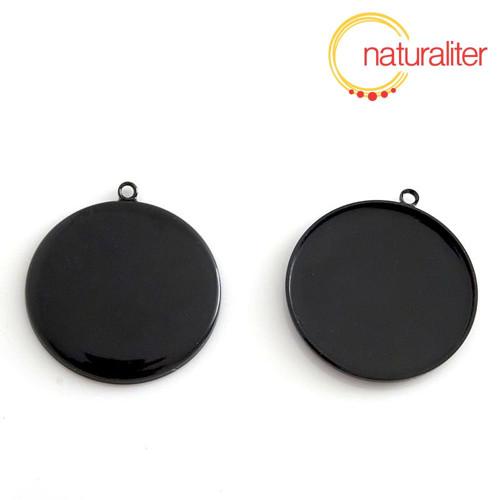 Lůžko kruh 30mm černé