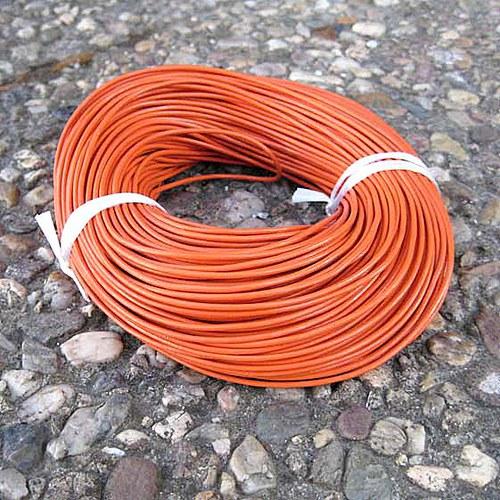 Kulatá Kůže 1,5mm - Oranžová