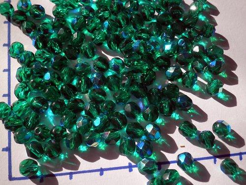 Temně zelené, 7mm,10gr.