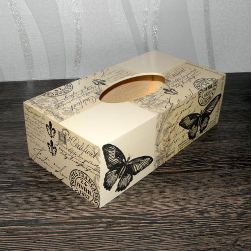 Krabička na kapesníky- motýl III