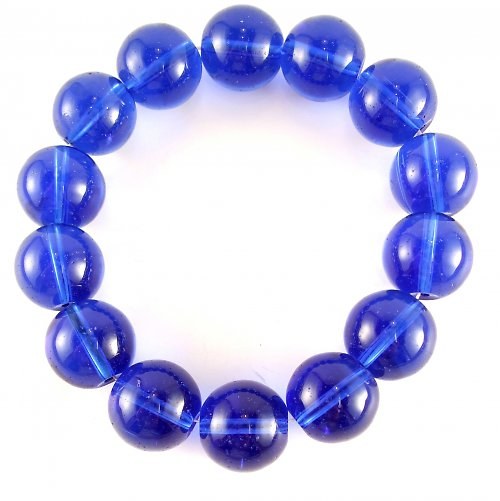 Jadeit modrý 12 mm