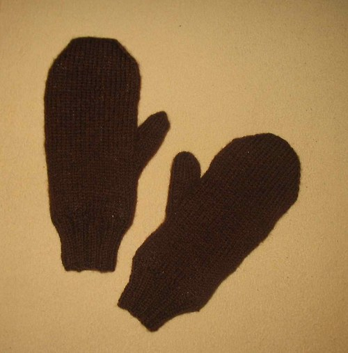 Zateplené dámské rukavice