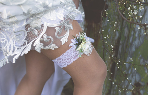 """Podvazek pro nevěstu \""""duše rozkvetlá\"""""""