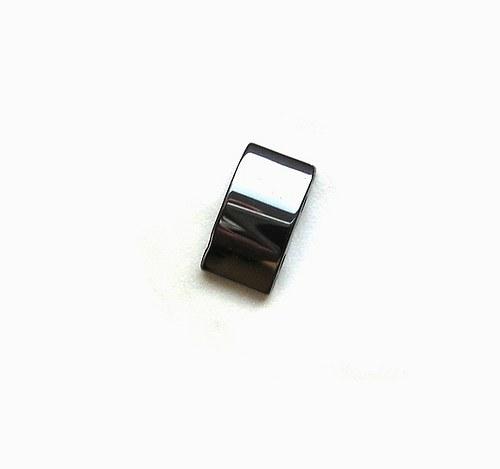 Hematitové obdélníky, 20 x 10 mm - 1 kus
