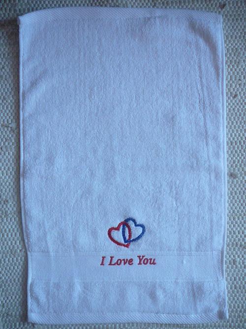 Valentýnský ručník