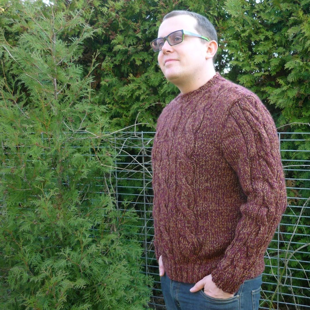 25cb04648ce9 APULU - ručně pletený pánský svetr   Zboží prodejce Alleko