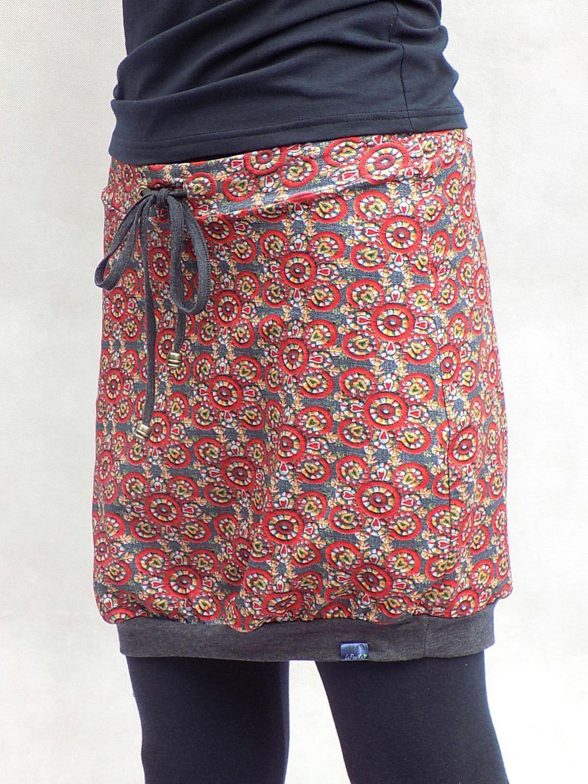 Vzorovaná sukně s vázačkou - poslední   Zboží prodejce LaPanika ... 66930ceed1c