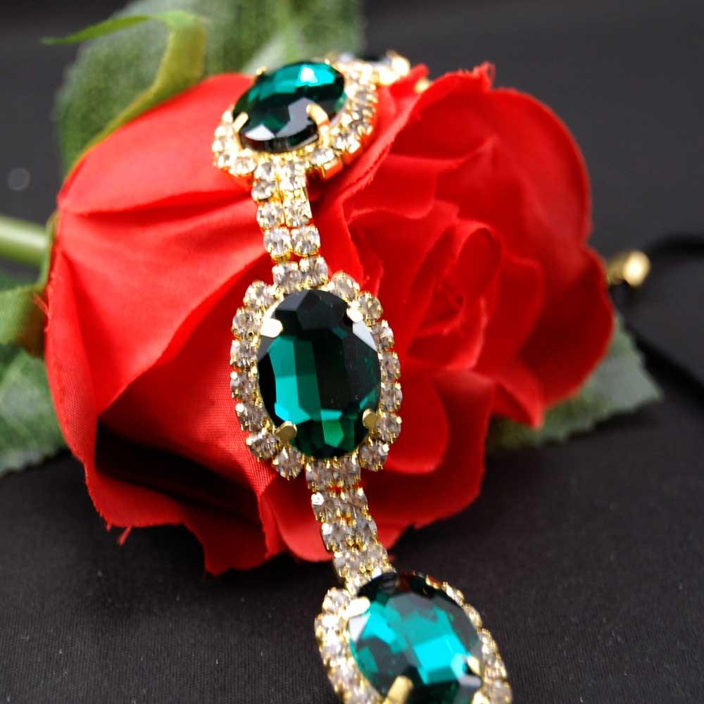 Great Gatsby Smaragdová ... čelenka   Zboží prodejce Maria ... a76f76e063