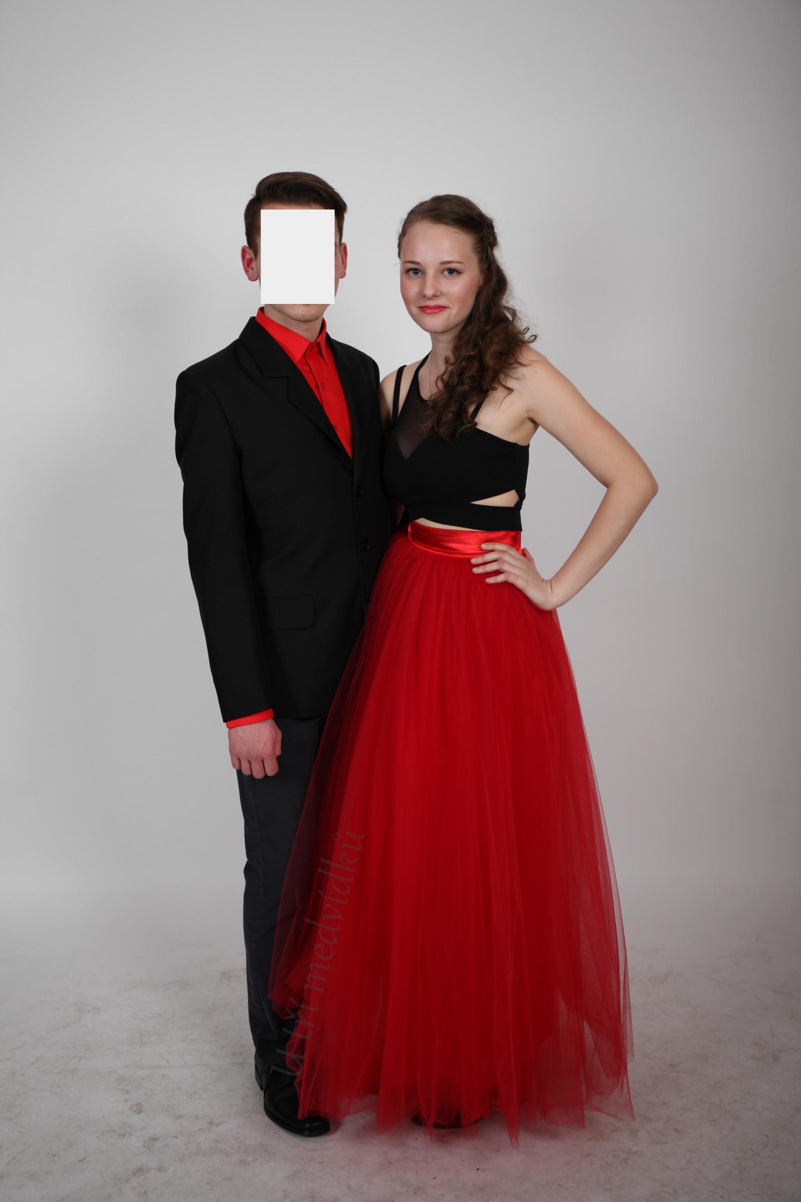 7188a517b11 Červená tylová sukně   Zboží prodejce MVstyle