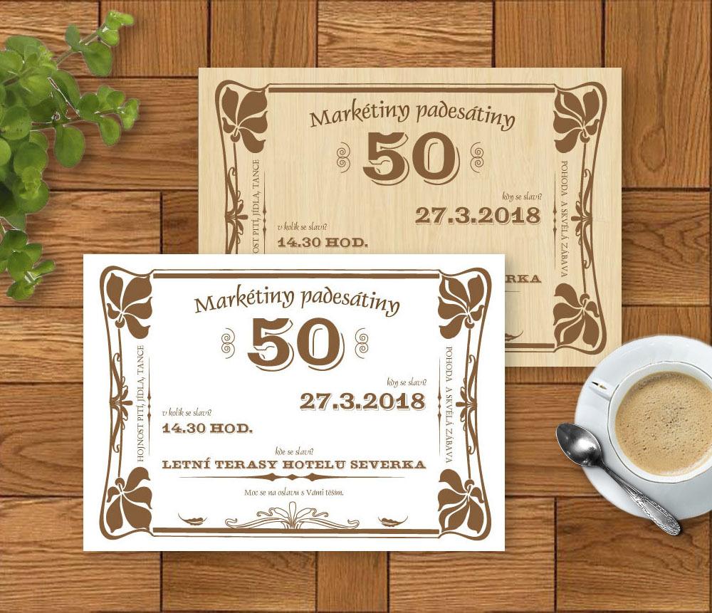 retro pozvánka na narozeniny Pozvánka v retro stylu k výročí (No.224.a) (bílá) / Zboží prodejce  retro pozvánka na narozeniny