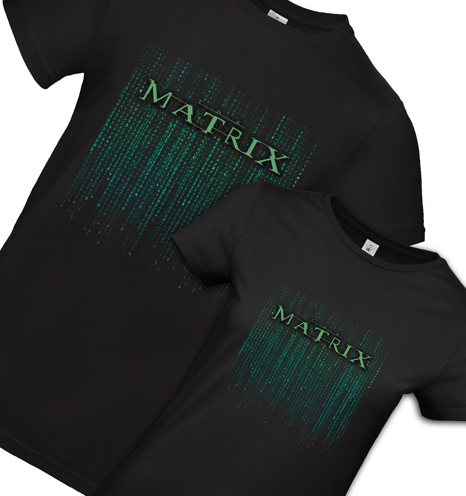 522d2709ad6e Dámske a pánske tričko Matrix - sada pre dvoch   Zboží prodejce ...