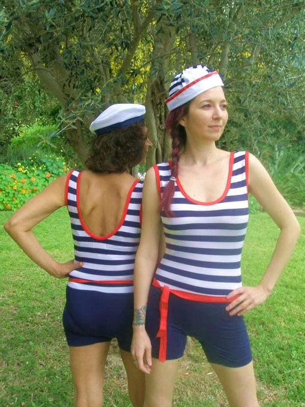 cb035f78824c Dámské retro plavky-jen vel XL a L   Zboží prodejce La Romantica ...